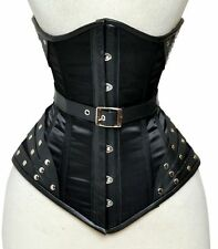 Under Bust Corsage corset of satin leather Gr 34,36,38,40, to 56