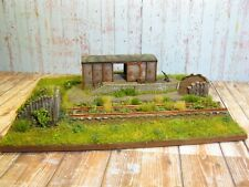 Lost Places: Lagerschuppen am Endgleis Diorama HO H0 1:87 #173
