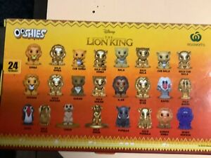 Woolworths THE LION KING OOSHIES Disney Character Figure - Variation Listing