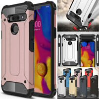 For LG G8 G7 V40 V50 ThinQ G6 Case Dual Layer Hybrid Shockproof Armor Cover