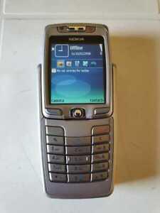 Rare Old Nokia E Series E70 - Silver (Unlocked)