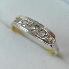 18 Carat Yellow Gold Diamond Victorian Fine Jewellery