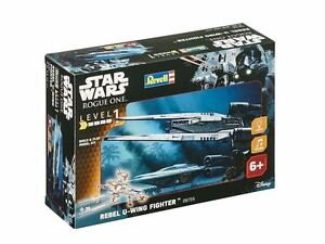 Revell Star Wars Rogue One - Build & Play Rebel U-Wing Fighter Model Kit - 06755