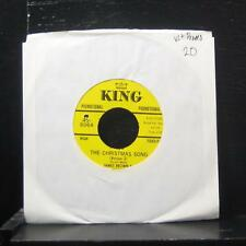 "James Brown & The Famous Flames - The Christmas Song 7"" VG+ 45-6064 Promo Vinyl"