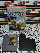 Cabal (Nintendo Entertainment System, 1990) In Box + Dust Sleeve