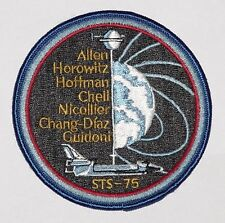 Ricamate patch spaziale NASA sts-75 dello Space Shuttle Columbia... a3119