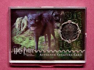 Harry Potter-POA-Film-Movie-Screen Used-Movie-Prop Card-Creature Card-Grim Fur