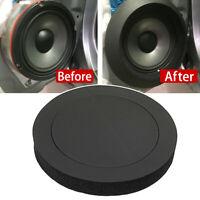 """4Pcs 6.5"""" Car Door Speaker Ring Bass Audio Speakers Sound Insulation Ring Trim"""