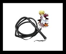Anime Pu whip.Hitman Reborn!.Dino Cavallone cosplay props.weapon.