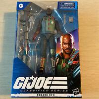 "GI Joe Classified 01 Roadblock 6"" Action Figure New MISB by Hasbro"