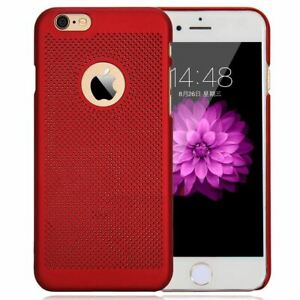 Ultra Thin Case For Apple iPhone 10 X 8 7 6s 5s Luxury PC Mesh Hard Back Cover