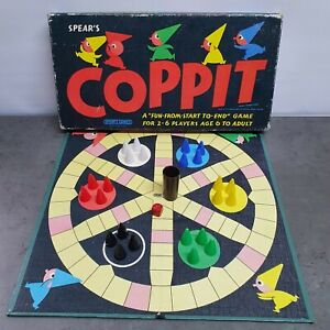 Vintage COPPIT Board Game Spear's Games 1964 - 100% Complete Great Condition