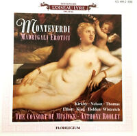 Monteverdi Madrigali Erotici The Consort Of Musicke Anthony Rooley