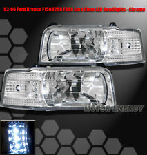 92 93 94 95 96 FORD F150 F250 F350 BRONCO LED HEADLIGHT