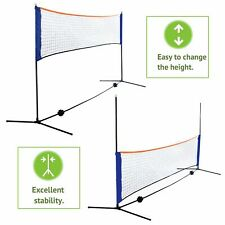 New listing Volleyball Tennis Net Set with Stand Frame Carry Bag 10 Feet Portable Badminton