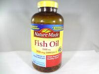 Nature Made - Fish Oil 1000mg-300mg Omega-3 Healthy Heart-320 softgels {VS-N}
