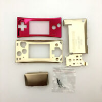 BRAND Full Housing Shell Replacement W/ Faceplate For Nintendo Gameboy Micro GBM
