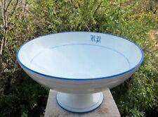 Porcelaine de Limoges Jean Pouyat XIXème grand compotier creux
