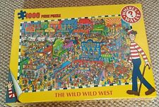 BRAND NEW AND SEALED WHERE'S WALLY THE WILD WILD WEST JIGSAW PUZZLE 1000 pieces