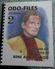 Odo-Files Journal #2: Stories & Art Selected by René Auberjonois, autographed