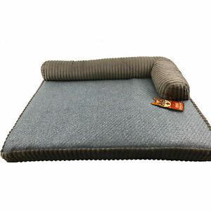 Hard Wearing PREMIUM Corner Style Pet Bed - 2 Sizes - 3 Colours