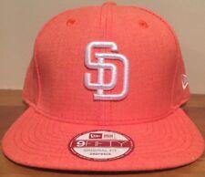 San Diego Padres New Era 9FIFTY Hat Cap MLB SnapBack