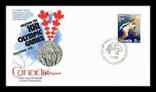 DR JIM STAMPS 8 + 2 MONTREAL OLYMPIC GAMES FDC CANADA UNSEALED COVER