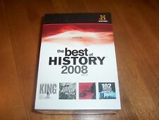 THE BEST OF HISTORY 2008 History Channel Special 1968 102 Minutes 10 DVD SET NEW