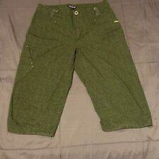 Patagonia Long Shorts Green Hiking Camping Mens Size 30