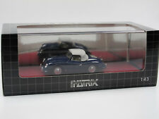 Matrix Scale Models 1952 Porsche 356 America Roadster Top Up blue 1/43 Limited