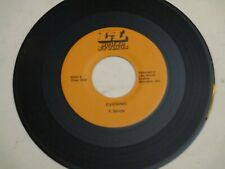 """P. Berube - Evening / L.A. 7"""" Nm- Rare Boston Private Power Pop Rock Nice! Rare"""