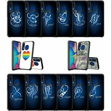 For Samsung Galaxy A20 / A30 / A50 Slim Protective Dual Layer Case Zodiac