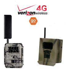 2019 Spartan GoCam Verizon 4G/Lte Cellular Game Camera Gc-Z4Gb + Security Box