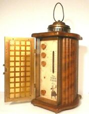 vintage MID CENTURY MODERN RADIO - Restored and Working GREAT -- THE TOWN CRIER