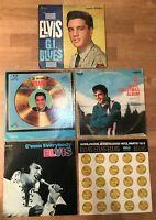 Elvis Presley LP lot of 5 vinyl 33 records classic pop rock albums G.I. Blues