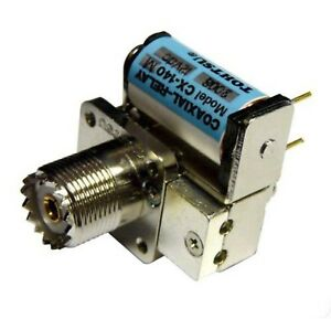 New Tohtsu CX-140M SPDT UHF Type Coaxial Antenna Relay