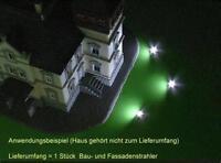 S055 LED Flutlichtstrahler Bau- und Fassadenstrahler Flutlicht Strahler 9-16V=