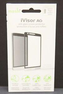 New OEM Moshi iVisor AG Anti-Glare Screen Guard Protector For LG G3 Vigor White