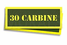 30 CARBINE Ammo Can Labels for Ammunition Case 3