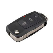 for vw VOLKSWAGEN  passat golf polo remote car key fob case and blade 3 button