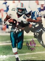 O.J. McDuffie Autographed 8x10 Football Photo