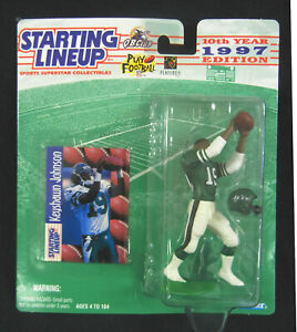 USC Trojans Rose Bowl Star KEYSHAWN JOHNSON 1997 SLU Figure : NFL New York Jets