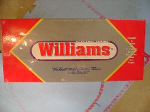 WILLIAMS BC-101 BOSTON & MAINE BUDD CAR POWER & DUMMY DIESEL LOCOMOTIVES SET