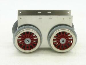Lionel Williams Reproductions Standard Gauge Blank Motor Block has MEW Wheels #2