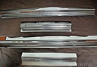 SILL SCUFF PLATE STAINLESS FOR CHEVROLET HOLDEN COLORADO 2012-2015 LTZ 4 DOORS