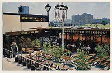 New York World 's Fair'64/dinkelacker beer garden/Cannstatter pueblo firmemente * ak