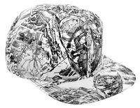 DC Comics - Batman - Jim Lee Pencil Art Snapback Cap - SDCC & NYCC 2019 IN STOCK