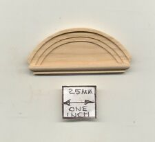 Federal Circle Window Pediment dollhouse 1:12 scale #7071 1pc Houseworks wood