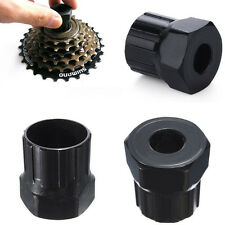 Pro Bike Bicycle Cassette Flywheel Freewheel Lockring Remover Repair Tool Black