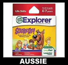 LeapPad 1 2 3, ULTRA, LEAPSTER GS & EXPLORER ~ SCOOBY-DOO Game ~ NEW